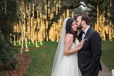 Emily & Adam {Brookgreen Gardens} | Wedding Row Grand Strand | ava moore photography | night of a thousand candles lights