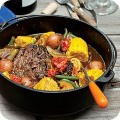 Dutch oven cooking; go have fun while the dinner prepares itself.