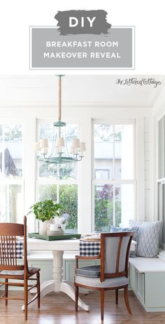 Check out this DIY breakfast nook makeover from Layla, of The Lettered Cottage, for some farmhouse-chic interior design inspiration. Layla started by priming her metal chandelier with KILZ Original Aerosol Primer. Then, she used KILZ Complete Coat Paint & Primer In One to give her DIY banquette seating a fresh new look. Click here for the full tutorial.