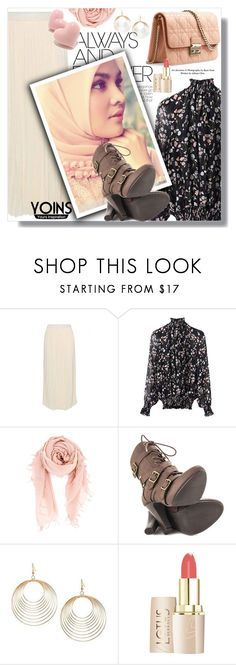 """""""Hijab"""" by sans-moderation ❤ liked on Polyvore featuring Christian Dior, Chan Luu, Mojo Moxy, hijab and yoins"""