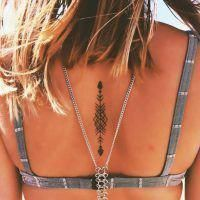 Simple But Meaningful Tattoo Ideas For - Tattoos on neck - Tattoo Frauen Trendy Tattoos, Cute Tattoos, Unique Tattoos, Body Art Tattoos, Small Tattoos, Girl Tattoos, Tattoos For Guys, Flower Tattoos, Ribbon Tattoos