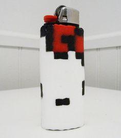 Hello Kitty Perler Bead LIGHTER CASE by LighterCases on Etsy, $10.00 ©