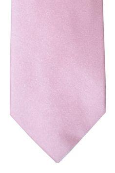 Barba Sevenfold Tie Pink Solid Design Pink Ties, Design