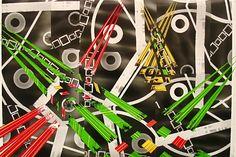 "Claudia Pampin - Dare to Dream, 50""x 35"", Acrylic on photo, $300"