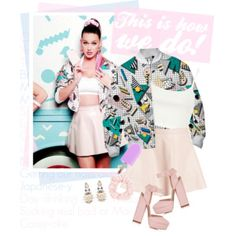 "Katy Perry : ""This is how we do"" music video outfit! / Top set for Sep 9th, 2014"