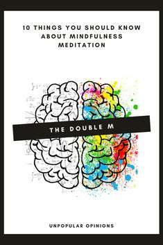 Types Of Meditation, Meditation Techniques, Mindfulness Practice, Mindfulness Meditation, Let It Flow, Unpopular Opinion, Interpersonal Relationship, Spiritual Practices, Thoughts And Feelings