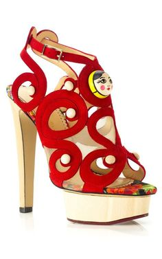 4d6c096441f3 Anastasia Sandal by Charlotte Olympia for Preorder on Moda Operandi