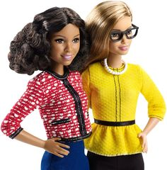 2016 Barbie Careers - President & Vice President Dolls