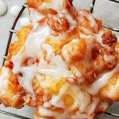 Delicious Fresh Peach Fritters Recipe | Just A Pinch Recipes