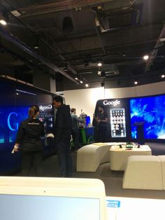 Google store, Tottenham Court Road - more experience than shop!