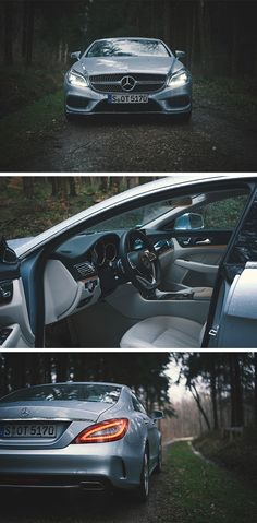 Elegant vehicle: The Mercedes-Benz CLS 500. Photos by Dimiti Bokow via #mbsocialcar. [Mercedes-Benz CLS 500 | combined fuel consumption 8.9–8.8 l/100km | combined CO2 emission 209–205 g/km | http://mb4.me/efficiency_statement]