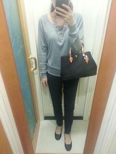 Zara navy blue lace back dress, Comme Ca Store slip on ...