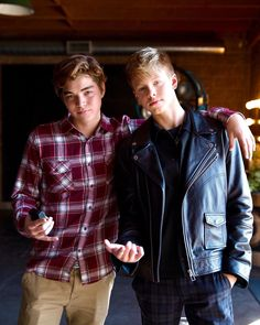 Carson James, Carson Lueders, Happy Birthday Brother, Haha, Plaid, Guys, Handsome Boys, Instagram, Leather Jackets