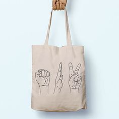 Rock Paper Scissors Illustration Slogan by PaperTigersApparel