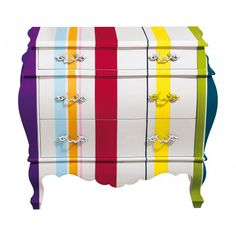 Bombe Chest - Striped