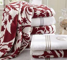 Florentine Angel Bath Towels | Pottery Barn