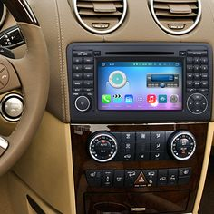 Seicane Mercedes Benz ML Class Radio Removal with Android GPS Navigation Stereo Multi-touch Capacitive Screen DVD Mirror Link Bluetooth WiFi Happy Birthday Gif Images, Mercedes Benz Ml350, Mercedez Benz, Mirror Link, Multi Touch, Gps Navigation, Car Audio, Wi Fi, Bluetooth