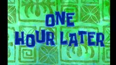 Spongebob Timecard One Hour Later Youtube Glitch, Vídeos Youtube, Youtube Logo, Spongebob Time Cards, Spongebob Episodes, Chroma Key, Patrick Star, First Youtube Video Ideas, Youtube Editing
