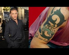Tom Hardy! Any guy w/ a Fighting Irish tattoo is alright in my book... <3
