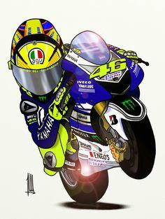 Motorcycle Art, Bike Art, Foto Valentino Rossi, Rossi Gp, Kawasaki Ninja, Rossi Yamaha, Gp Moto, Stunt Bike, Bike Photoshoot