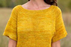 Ravelry: Nienna Tee pattern by Ramona Gaynor