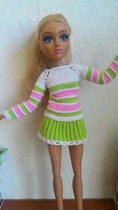 PlayDolls.ru - Играем в куклы: Bonita - Вяжу для кукол. (1/8)