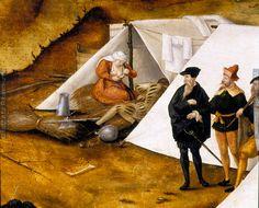 Detail from Zeltlager Kaiser Karls V. vor Lauingen im Jahre 1546, Dieses Bild: 015457