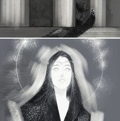 sauronisnotamused:  Small bunch of sketches, concept work 'n' progress. Decided to post something before I cast myself into the void.Still need to work on Varda..I just can't decide if I should make her bright as a star or as the nightsky above Cuiviénen.Beside my tough college time I wish you some good holidays and a happy new year!°˖ ✧◝(╹◡╹)◜✧˖ °