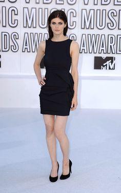 Alexandra Daddario - 2010 MTV Video Music Awards - Rocking the Little Black Dress