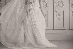 Joi wedding garter / blue