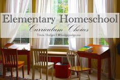 Elementary Homeschool Curriculum Choices at Hodgepodge