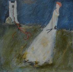 not waiting for the prince - art of Jeanie Tomanek Fairytale Art, Whimsical Art, Pics Art, Mixed Media Art, Kai, Book Art, Fairy Tales, Illustration Art, Abstract