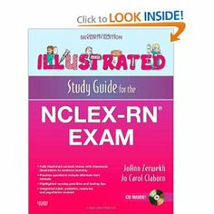 Illustrated Study Guide for the NCLEX-RN® Exam, 7e (Mosby's Illustrated Study Guide for NCLEX-RN Exam): JoAnn Zerwekh MSN EdD RN, Jo Carol C...