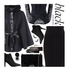a60c2f2476cb9 Monochrome  All Black Everything (plus size)