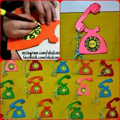 free telephone craft (3) | Crafts and Worksheets for Preschool,Toddler and Kindergarten