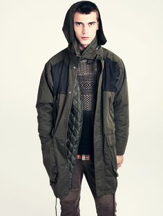 Long surplus jacket / H and M