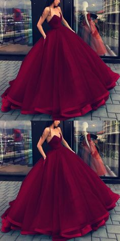 Organza V-neck Bodice Corset Ball Gowns Floor Length Wedding Dresses by MeetBeauty, $140.78 USD
