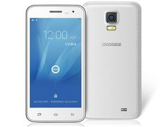 DOOGEE VOYAGER2 DG310 3G Smartphone 5.0 IPS Android 4.4 Quad Core MTK6582 1.3GHz 1GB RAM and 8GB ROM 3G Phablet with Dual Camera White . This DOOGEE VOYAGER2 DG310 smartphone features 5.0 inch IPS, a quad core MTK6582 processor and supports Android 4.4 operating system. It supports Wi-Fi, Bluetooth, 0.3MP front camera and 2.0MP rear camera.