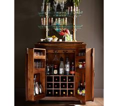 Unique Old Fashioned Liquor Cabinet