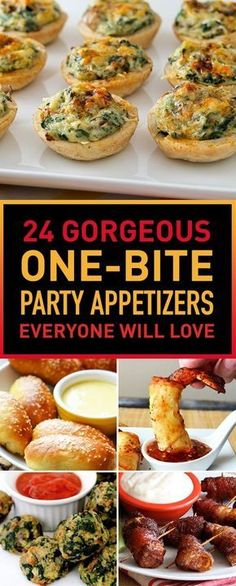 24 Gorgeous One-Bite Party Appetizers Everyone Will Love