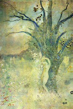 Le Printemps, Odilon Redon