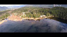IrixGuy 4K Phantom 2 Lake Flying in BC