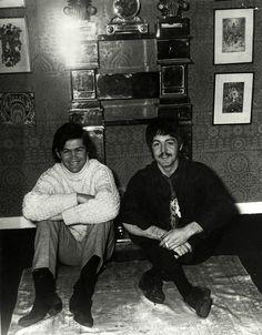 Micky Dolenz, The Monkees, Paul McCartney, The Beatles, vintage, 1960s,