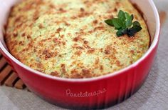 PANELATERAPIA - Blog de Culinária, Gastronomia e Receitas: Torta Suflê de Couve-flor