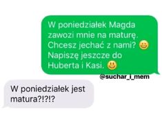 Funny Sms, Funny Text Messages, Funny Texts, Polish Memes, Im Depressed, Text Memes, Some Quotes, Haha, I Am Awesome