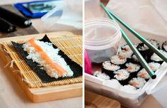 sushi til madpakken