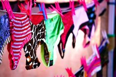 Bridal Shower Panty Poem  ( google for actual Poem)    ** Bridal white for the first night  Sexy lace panties for the honeymoon  Red for Valentine's day  Leopard print or purple for the 1st anniversary  A pink pair AND a blue pair for first baby  A sexy full cut pair for 25 years of marriage... and finally...  A big giant pair of bloomers or granny panties