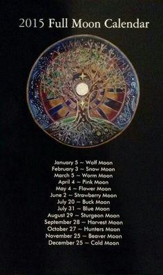 2015 full moon