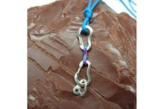 Climbing Quickdraw Necklace with Bolt Hanger #klettern #kletterschmuck #karabiner #arrampicata