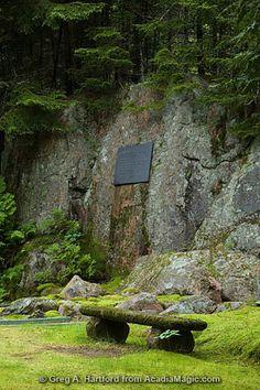Thuya Garden in Northeast Harbor, Maine, near Acadia National Park